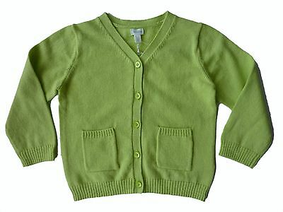 Baby GAP Boys LIME GREEN Pocket Knitted Button Cardigan Top 0-18m £12.95