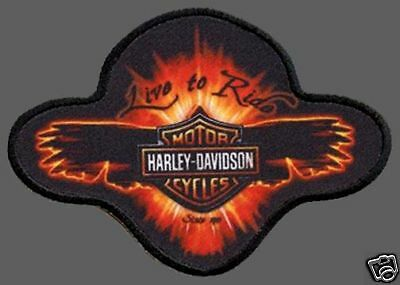 HARLEY DAVIDSON EMBER WING PATCH  new