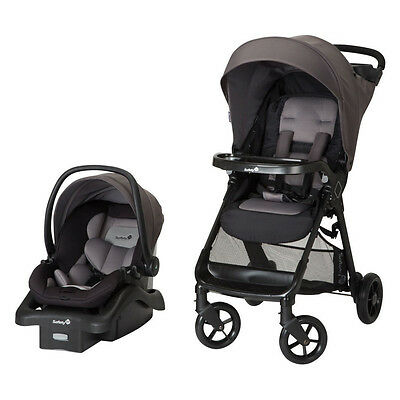 Safety 1st Smooth Ride Car Seat & Stroller Travel System, Monument | TR378EEL