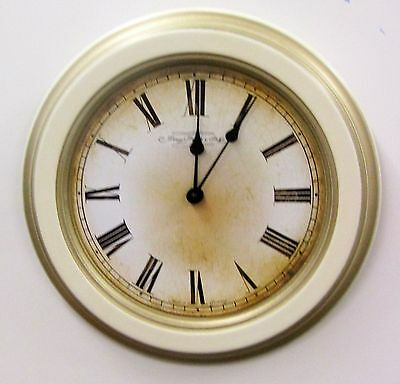 """Traditional 11"""" Wooden Wall Clock Made By The Hermle Clock Co 30777-002100"""