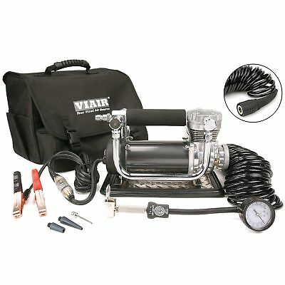 VIAIR 440P 150 PSI 12 Volt Powerful Portable Air Compressor Kit with Bag 44043