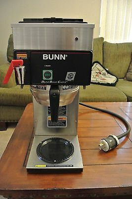 Bunn Commercial Coffer Brewer Maker Machine 28800.0308/cdbcfp35 240V