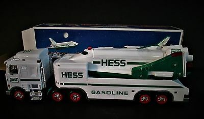 1999 Hess Toy Truck Space Shuttle W Satellite Mint New In Box Collectible Toys