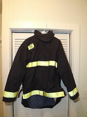Morning Pride Fireman Firefighter Jacket & Pants Turnout Gear 36 X 32 Chest 44