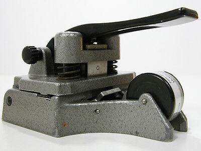 CATOZZO 16MM FILM SPLICER With Instructions & Works Nicely