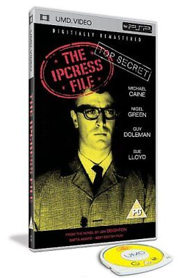 The Ipcress File [UMD Mini for PSP] - DVD  DMVG The Cheap Fast Free Post