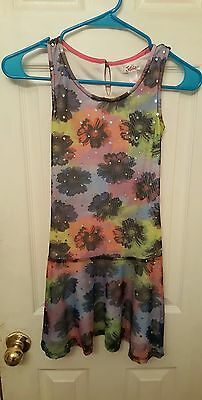 Girl's justice size 10  girls beautiful and colorful summer dress New
