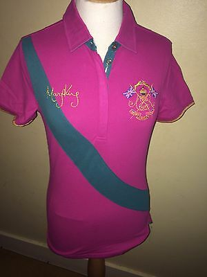 JOULES Badminton Official Deck Shirt  Sz 10 12 14 RRP£59.95 Free UK P/&P