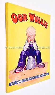 First Oor Wullie Annual 1941 - DC Thomson Dudley D Watkins
