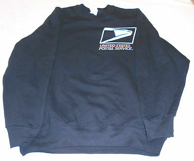 VTG Men's USPS Post Office Letter Carrier Sweatshirt Uniform Apparel Sz XL