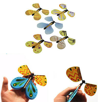 20Pcs Flying Cocoon into a Butterfly Magician Trick Magic Fliegend Schmetterling
