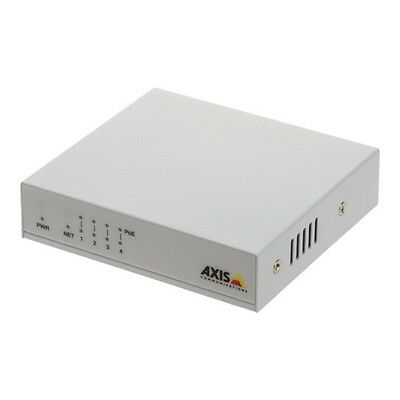 AXIS Switch Axis 5801-352 4 Porte 10/100 Mbps Poe Plug and Play bianco [5801-352