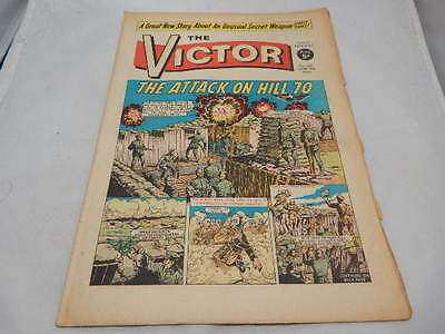 THE VICTOR COMIC No 381 ~ June 8th 1968 ~ The Attack On Hill 70