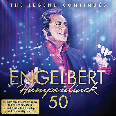 ENGELBERT HUMPERDINCK 50 2-CD SET (Release 2017) (Greatest Hits / Very Best Of)