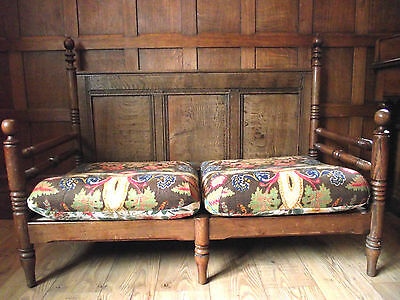 Arts and Crafts Settle / Pew / Window Seat - 2 Seat Sofa