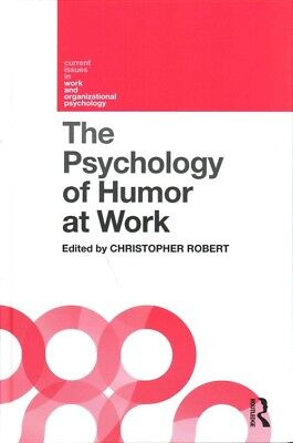 The Psychology of Humor at Work by Hardcover Book (English)