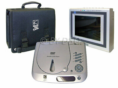 Kingavon Travel Pack DVD Player with LCD Colour TV