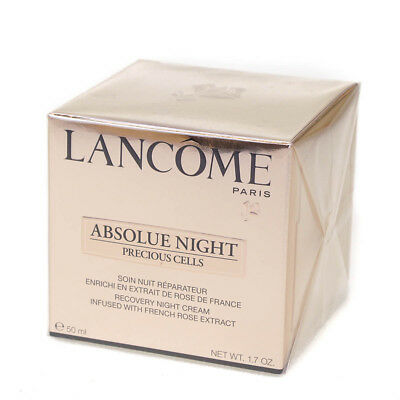 Lancome Absolue Night Recovery Face Cream With Rose Extract 50ml Damaged Box