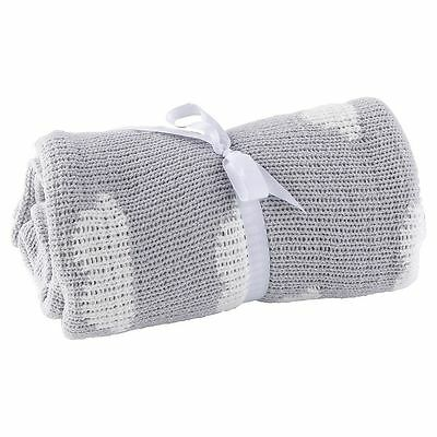 NEW Tesco Cloud Baby Chenille Blanket 100cm x 70cm