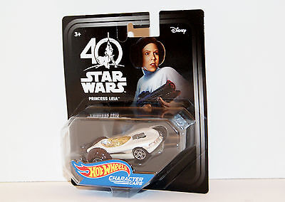 Disney Star Wars 40th Anniversary Celebration 2017 Hot Wheels Princess Leia