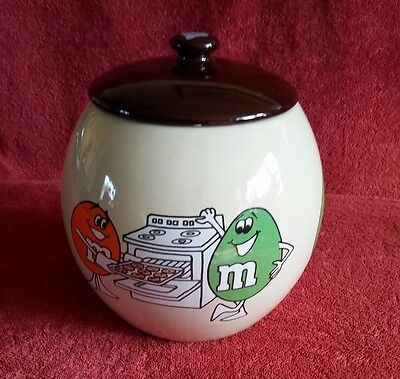 M&M's Cookie Jar- Mars, Inc. 1982- Cookie jar