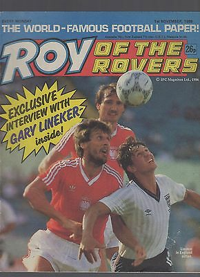 (-0-) ROY OF THE ROVERS COMIC 1st November 1986