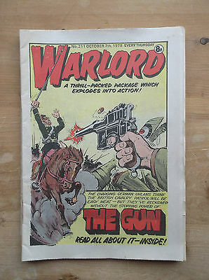 WARLORD COMIC No.211 7 OCTOBER 1978 SPITFIRE ISLAND WING COMMANDER GUY GIBSON