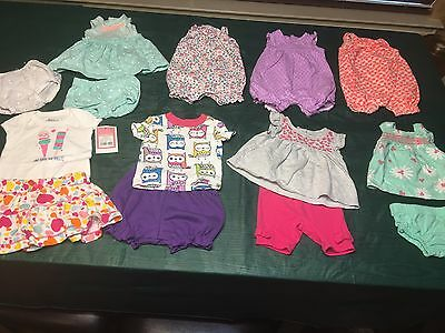 Baby Girls Clothes/Outfits/Dresses Lot of 14 Size 0 - 3 Months  summer