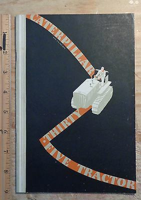 Caterpillar Thirty Five 35 Original Brochure - 37 pages - Form 1580