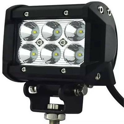 1PACK Marine Spreader light LED Deck/Mast light for boat 18W 12v-30v SS