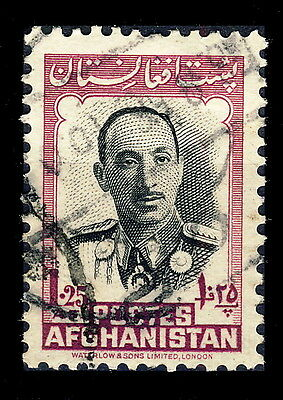 AFGHANISTAN - 1951 - Mi.357 1,25A Purple & Black - Oblitéré / Used