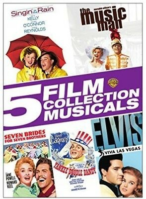 5 Film Collection: Musicals [New DVD] Boxed Set, Full Frame, Mono Sound, Subti