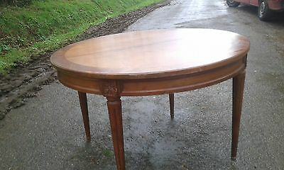 Beautiful Antique French 19Thc Round Extending Table In Nice Solid Useable Cond
