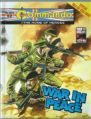 War In Peace,commando The Home Of Heroes,no.4623,war Comic,2013