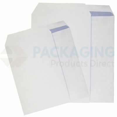 100 x C5/A5 PLAIN WHITE SELF SEAL ENVELOPES 90gsm SS