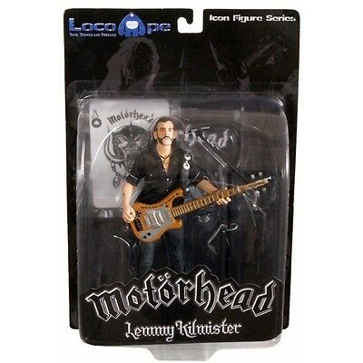 Mot?rhead Action Figure Lemmy Kilmister Rickenbacker Guitar Cross 16 cm