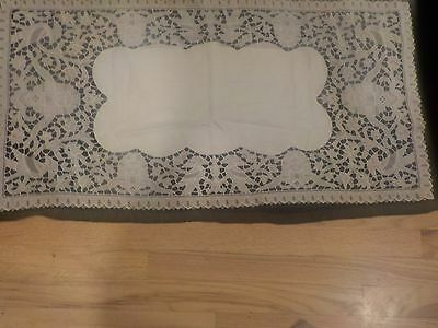 Antique 1920's Egyptian Phoenix and Sphinx Table Runner-Excellent condition!!!