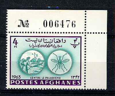 AFGHANISTAN - 1964 Mi.898A Corner Example with Sheet Number Neuf / Mint **(*)