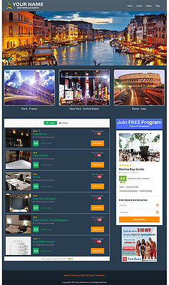 Hotel And Flight Website - Fully Automated Travel Website Business For Sale
