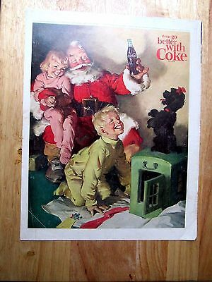 1964 Coca Cola Coke Things go better with Coke Print Ad