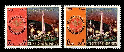 AFGHANISTAN - 1971 - Mi.1101/2 Independence Day - Neuf / Mint **