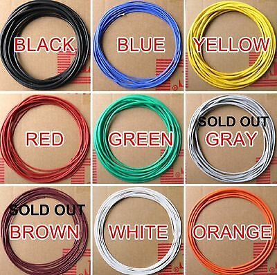 Silicone wire 26awg by the metre-various colours