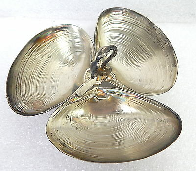 Wallace Sterling Silver Clam Oyster Mussels Dish Bowl 393 Antique 79 grams