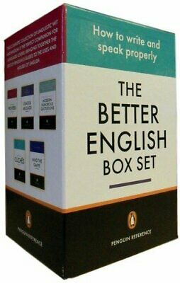 The Better English Box Set, Penguin Reference Book The Cheap Fast Free Post