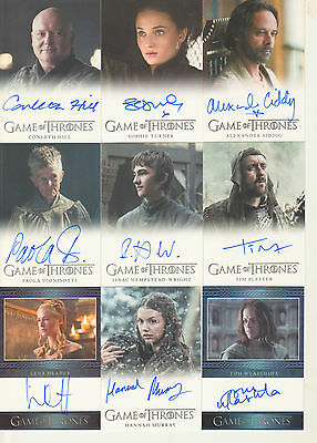 Game of Thrones Season 6 - Complete Master Set of Cards