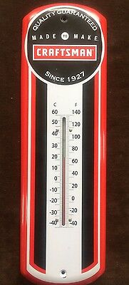 Craftsman Advertising  Thermometer vintage style 17x5""