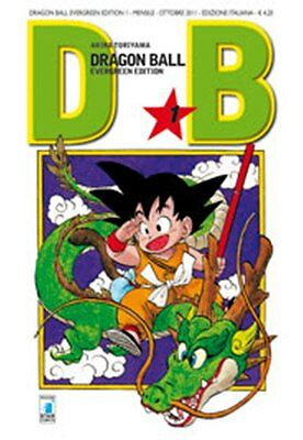DRAGON BALL EVERGREEN EDITION volume 1 ed. star comics manga completa super goku