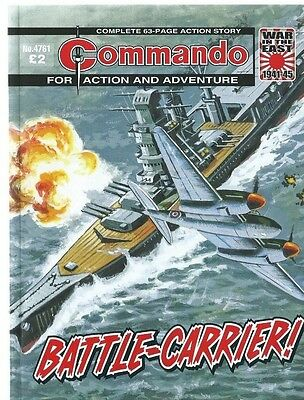 Battle-Carrier,commando For Action And Adventure,no.4761,war Comic,2014