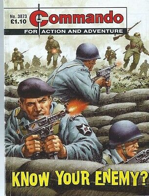 Know Your Enemy,commando For Action And Adventure,no.3873,war Comic,2005