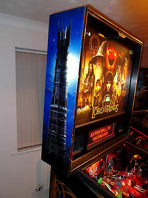 Lord of the Rings Stern Pinball Machine 2003